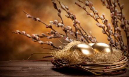 Velikonoční výzdoba z vajíček i ze skořápek – vyrobte si základ pro dokonalou výzdobu