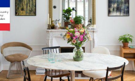 Francouzský styl bydlení bude mít vždy nadčasový šarm