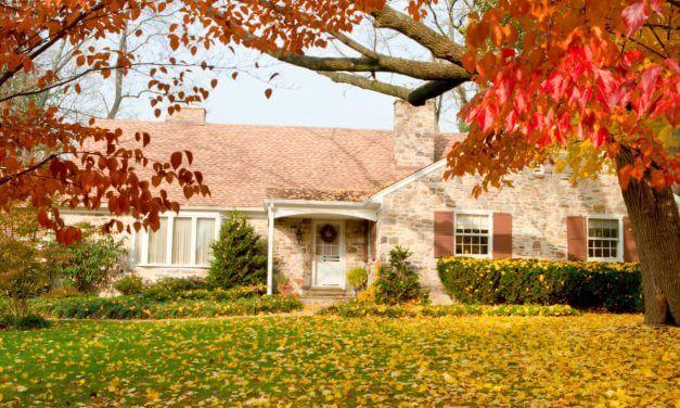 Podzimní dekorace na dveře s vámi přívítají podzim i vaše hosty