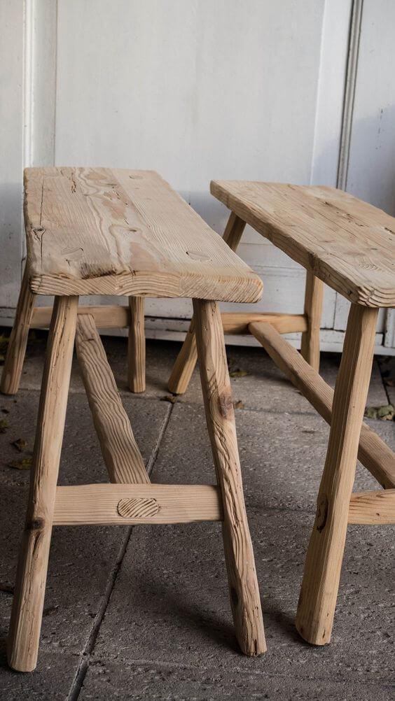 stolicky-ze-smrkoveho-dreva Zdroj:Pinterest