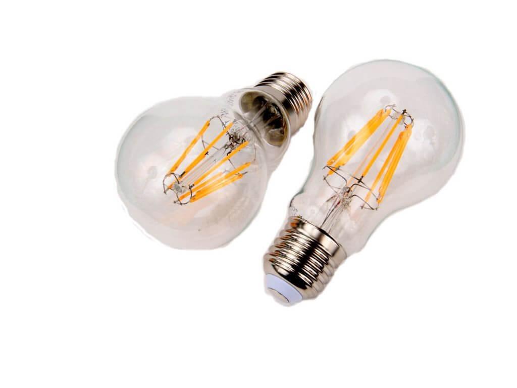 LED žárovka Retro 8W E27 stmívatelná. Zdroj: eshop.ledsolution.cz